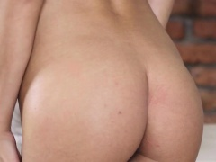 Naughty darling gives mesmerizing irrumation for stud
