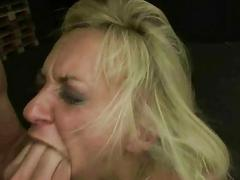 Blonde gets humiliated punished and fucked