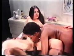Hot ebony vintage hardcore fuck