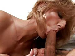 Wet mature bawdy cleft gets spoiled