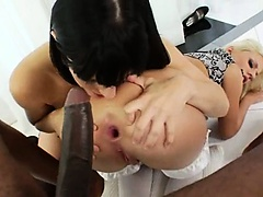 Extreme anal models and brutal black cok
