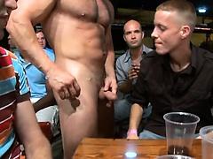 Hot stripper fucks chaps