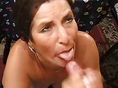Compilation mature women facials